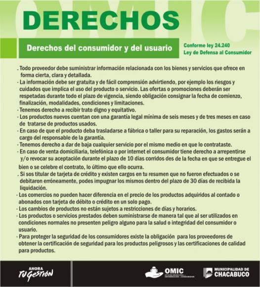 Oficina municipal de informaci n al consumidor ciudad de for Oficina de defensa del consumidor