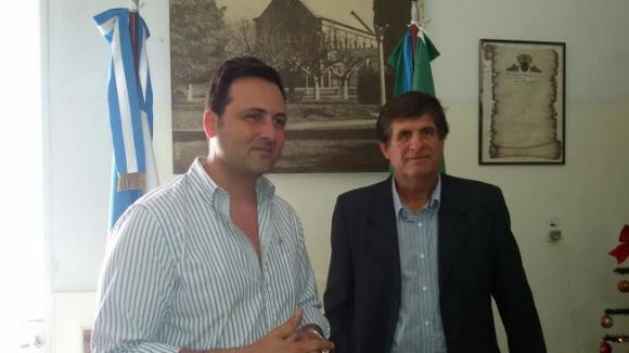 Presentación de los nuevos delegados municipales de Rawson y Castilla