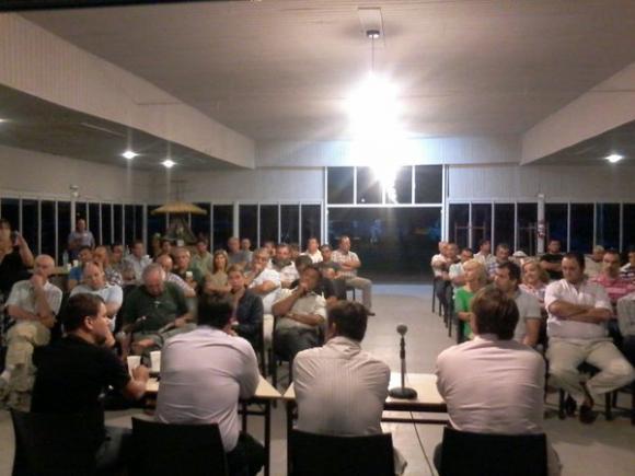 El Intendente Municipal se reunió con representantes de la Sociedad Rural