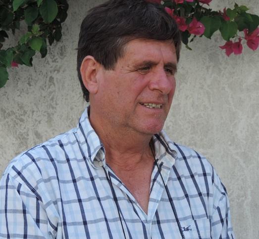 Conferencia de prensa del delegado de Rawson, Carlos Bert