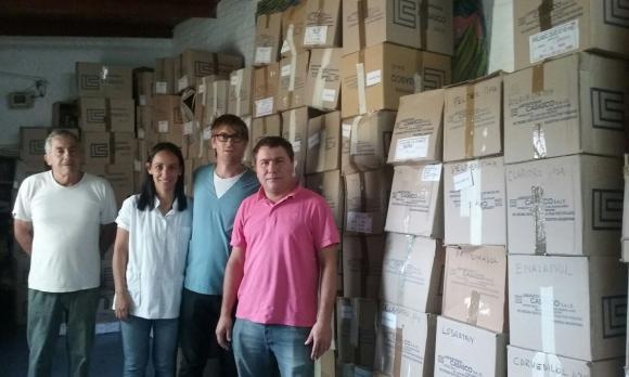 Funcionarios recorrieron la Sala de Salud «Eugenio Casasco»