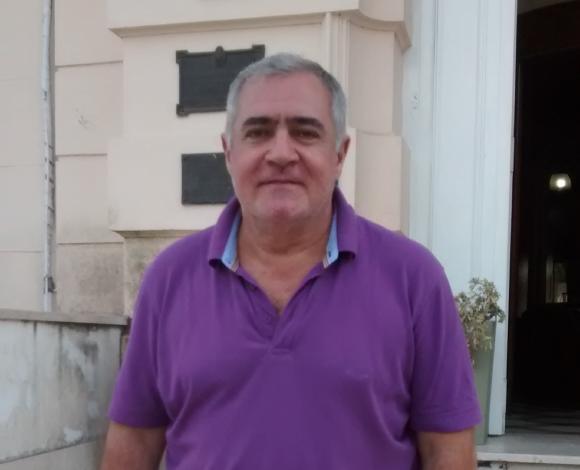 Conferencia de prensa del subsecratario de Obras Públicas, Osmar Echevarría