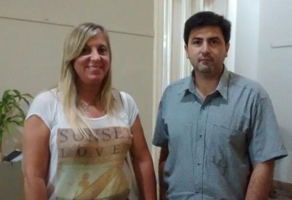 Conferencia de prensa de Herrera y Navone