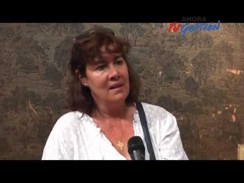 Conferencia de prensa de la directora de Educación, Gabriela Rizzotti