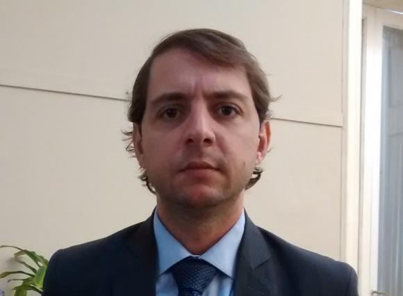 Conferencia de prensa del funcionario, Darío Ciminelli