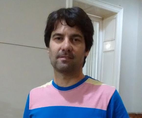 Conferencia de prensa del subsecretario de Acción Social, Rodolfo Serritella
