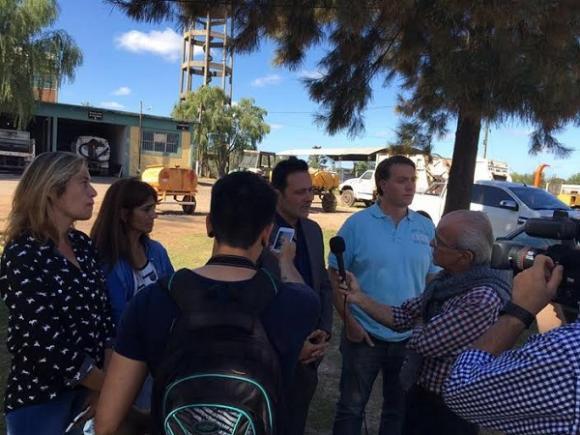 Aiola y su equipo recorren el Municipio y evalúan los 100 días de gestión