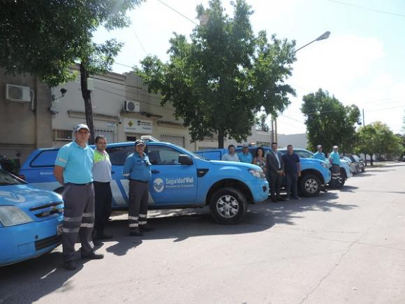 Autovía: Chacabuco recibió camionetas para iniciar controles viales