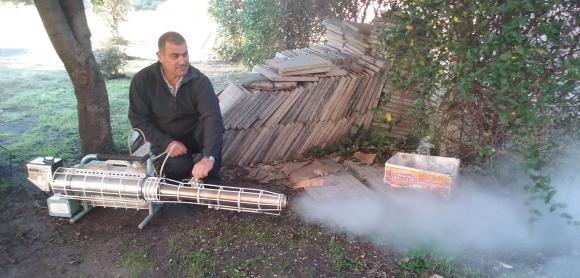 El Municipio adquirió una máquina pulverizadora para prevención del Dengue