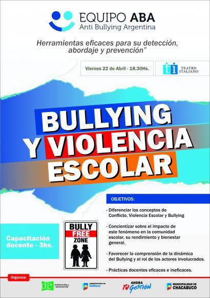 Capacitación sobre Bullying y Violencia Escolar