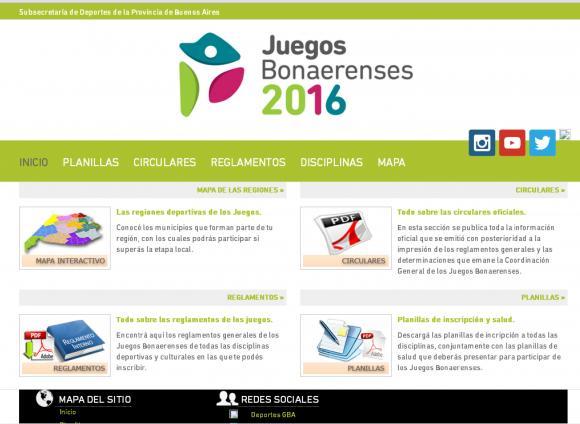 Cultura invita a participar de los Juegos Bonaerenses 2016