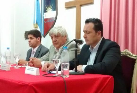 Aiola pronunció su discurso en la apertura de sesiones ordinarias