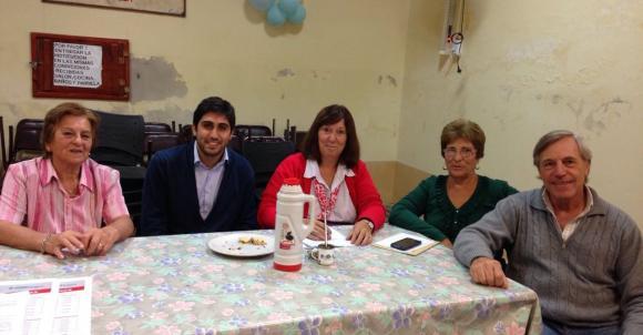 PAMI local se reunió con afiliados en la localidad de Castilla