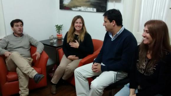 Legisladores provinciales de visita en Chacabuco