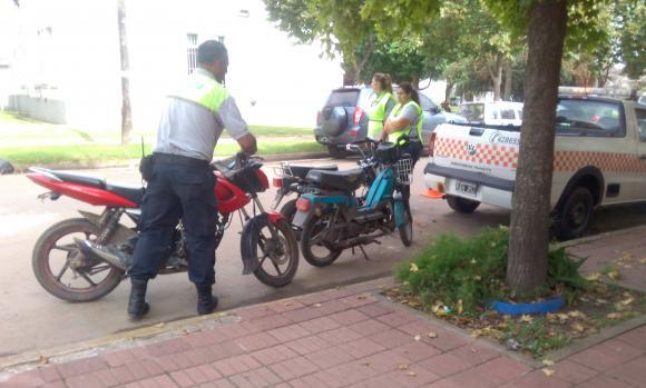 Operativo de control y prevención del tránsito en avenidas