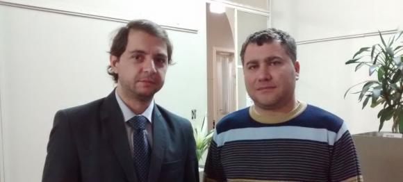 Conferencia de prensa de los secretarios, Ciminelli y Felice
