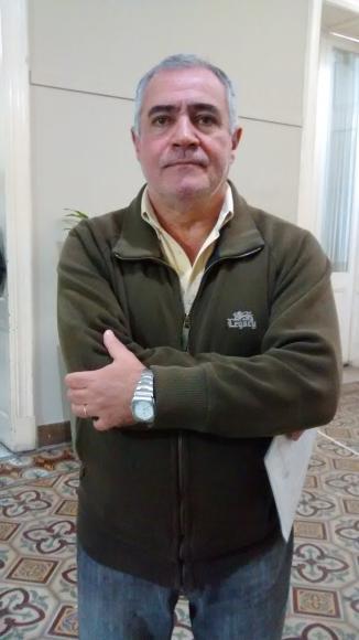 Conferencia de prensa del subsecretario de Obras Públicas, Osmar Echevarría