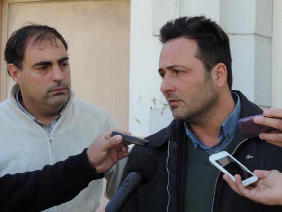 Aiola y Concejales presentaron su denuncia penal al Tiro Federal