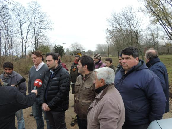 Aiola en Cucha Cucha: «las localidades que fueron olvidadas por años, hoy son nuestra prioridad»