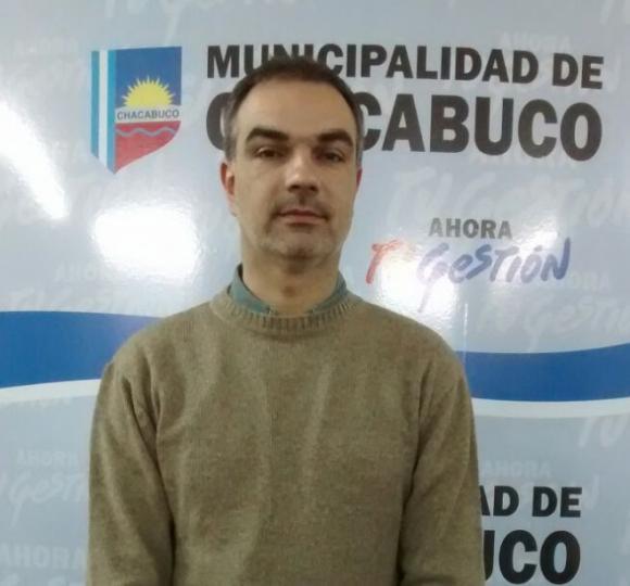 Conferencia de prensa del funcionario, Ariel Di Piero
