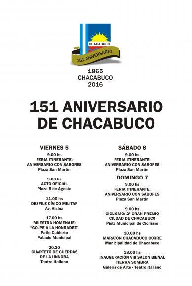 5 DE AGOSTO – Aniversario de Chacabuco