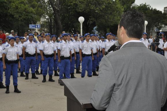 El subcomisario Dellagogna asignado como jefe de la Policía Local