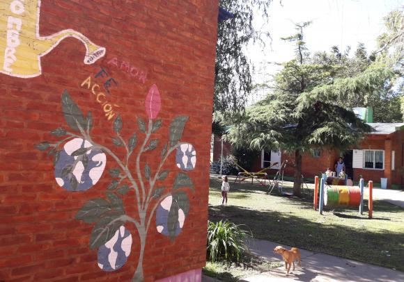 Hogar del Niño: un lugar de contención para los más pequeños