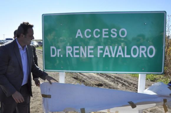 Es una realidad: fue inaugurado el acceso a Castilla