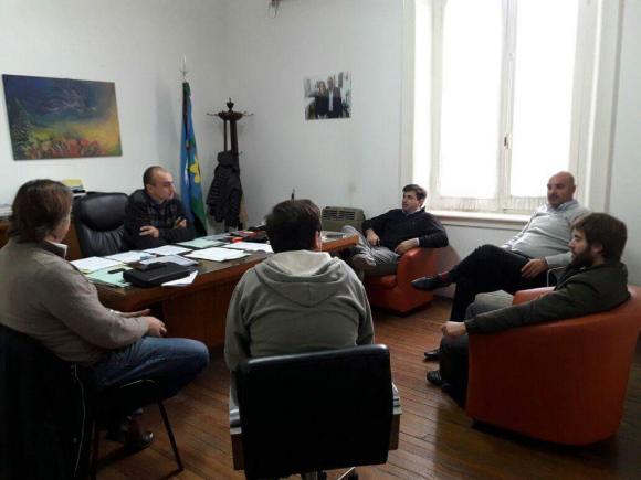Reunión con la nueva comisión del Club de Pesca