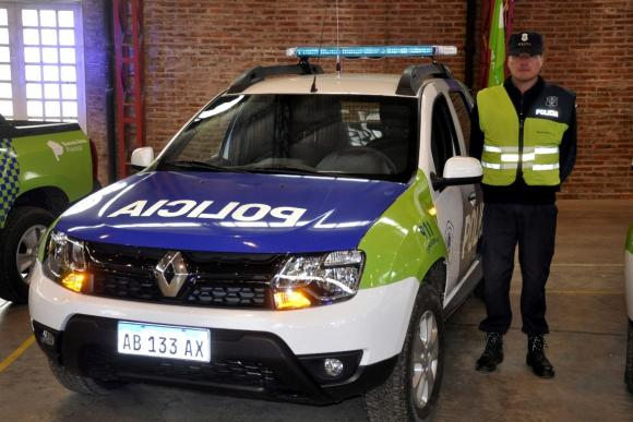 Más móviles policiales desde Provincia para Chacabuco