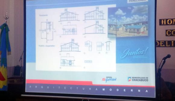 Sistema constructivo para las 272 viviendas en el marco del programa Techo Digno