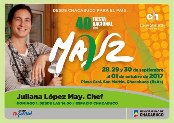 Actividades gastronómicas en el marco de la 40 Fiesta Nacional del Maíz