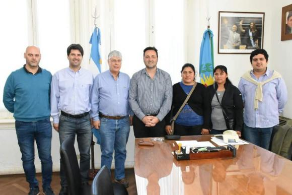 Aiola recibió al viceconsul boliviano