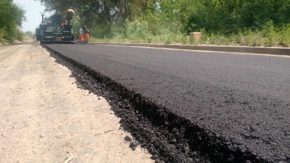 Plan de Accesibilidad a los Barrios: Comienzo de asfaltado