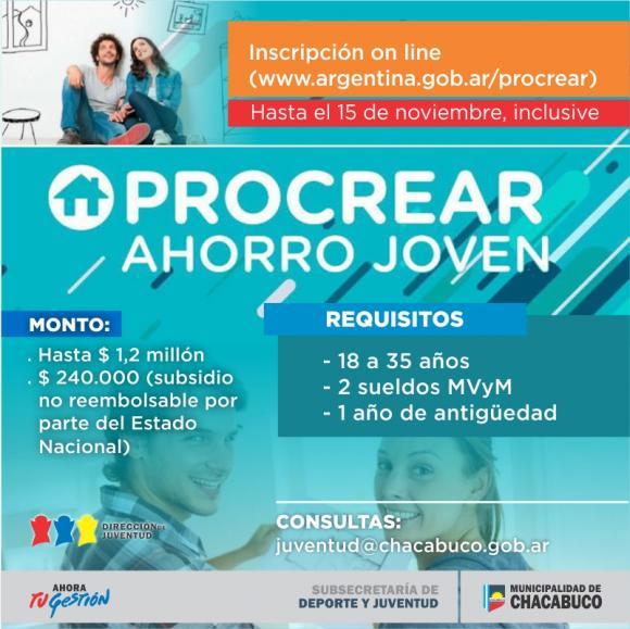 Lanzamiento del programa Procrear Ahorro Joven