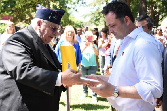 Castilla: XIV Fiesta del Soldado en homenaje al granadero Juan Rabuffi