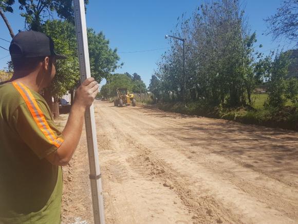 Más asfalto para los barrios de Chacabuco