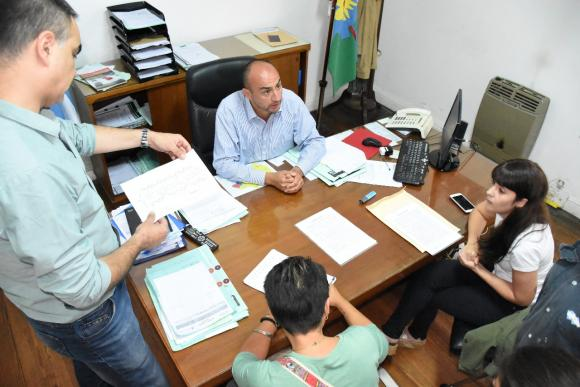 Cámera: «continuamos fomentando el empleo genuino»