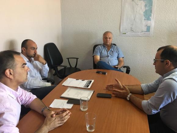 Presentación en Provincia del Plan de Obras municipal