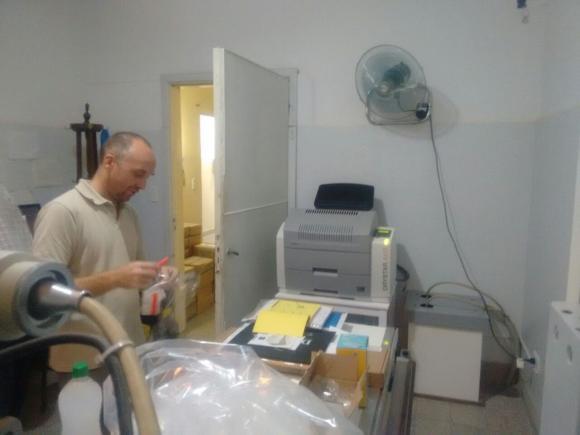 Hospital de Rawson: imágenes radiológicas digitalizadas
