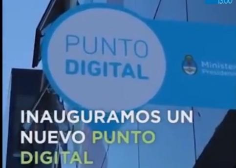 Punto digital: acceso a nuevas tecnologías y oficios para el futuro laboral