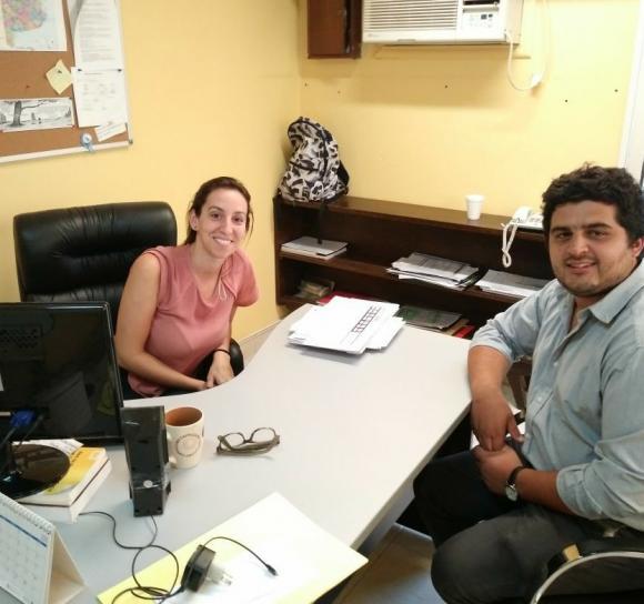 Relaciones Institucionales, Juventud y Empleo: gestiones en La Plata