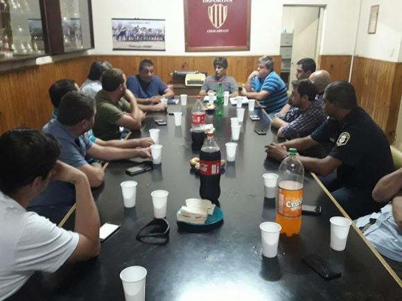 Reunión de Seguridad en la Liga Deportiva