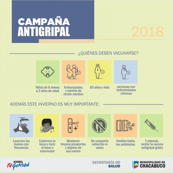 Campaña antigripal 2018: lo que hay que saber