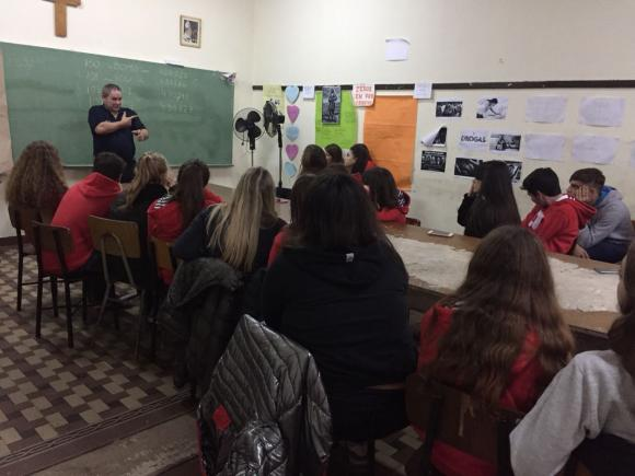 Educación Vial y encuentro RCP