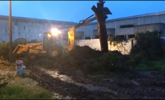 Salud: limpieza del terreno para la instalación del resonador magnético