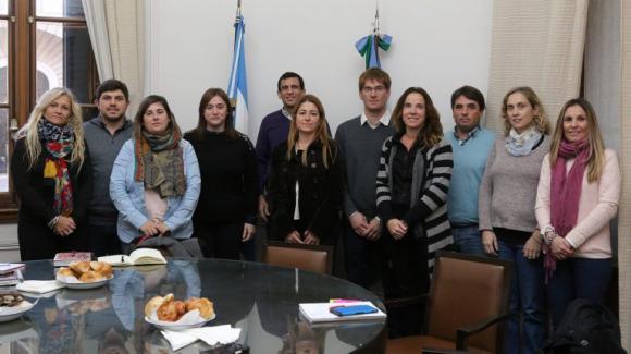 Funcionarios de Chacabuco visitaron el Centro Integral Padre Galli para conocer su metodología de trabajo
