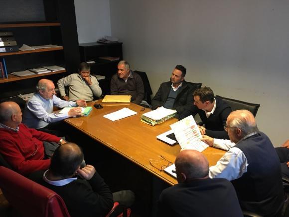 Gestión: Aiola junto a autoridades nacionales y provinciales
