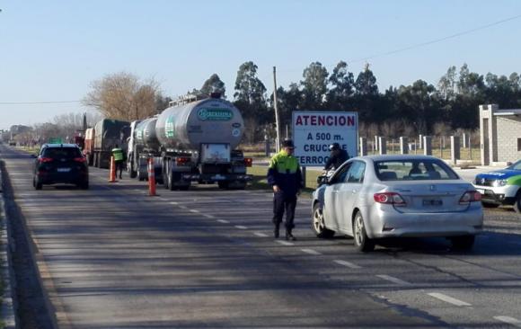 Importante operativo vial en Ruta 7 y accesos a la ciudad