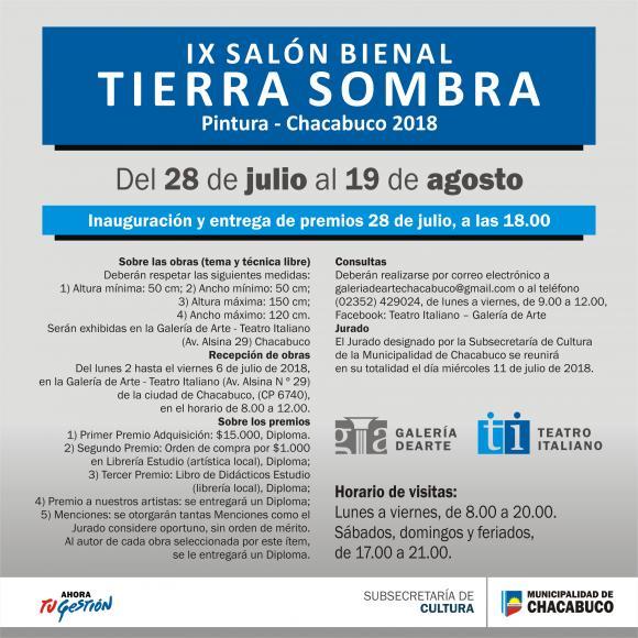 """""""Tierra Sombra"""", novena edición"""